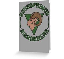 Goodsprings Bighorners Greeting Card