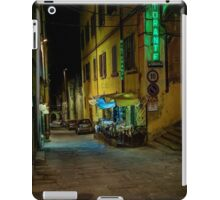 Restaurant in Tuscany iPad Case/Skin
