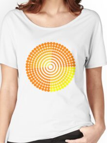 Circle Pattern2 t-shirt Women's Relaxed Fit T-Shirt