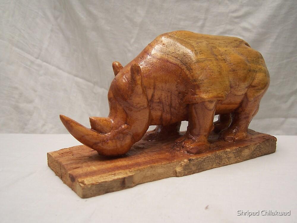 Rhinoceros by Shripad Chilakwad