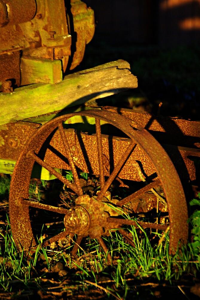 Old farm Equipment by Robert Kiesskalt