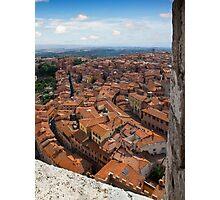 Siena Tuscany Photographic Print