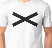 X [Black] Unisex T-Shirt