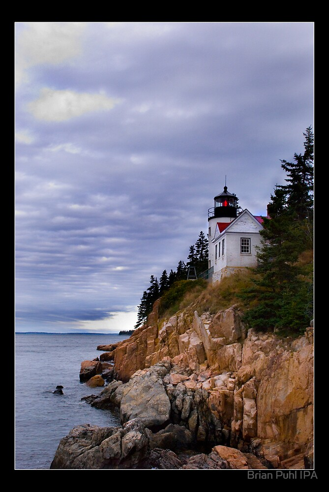 Bass Harbor Light by Brian Puhl IPA