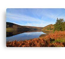 Derwent Water, Peak District National Park Canvas Print