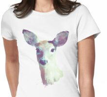 Whitetail No. 1 Womens Fitted T-Shirt