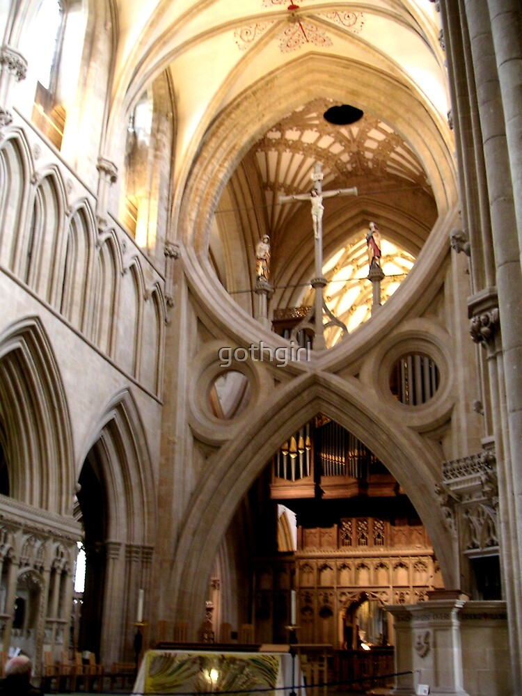 Wells Cathedral  by gothgirl