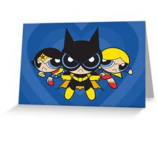 Supertough Girls Greeting Card