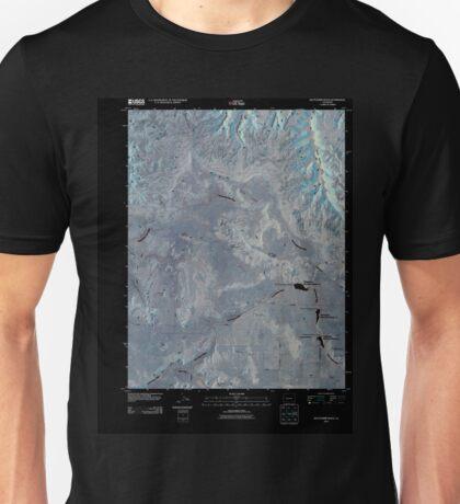 USGS TOPO Map Colorado CO Battleship Rock 20100913 TM Inverted Unisex T-Shirt