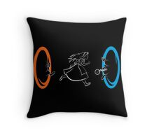 Forever Late Throw Pillow