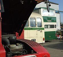 Routemaster engine by barnsleysteve