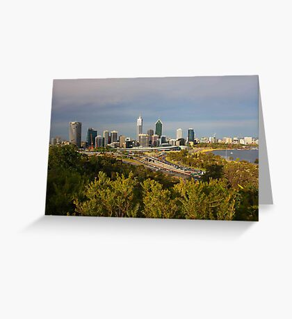 Perth Western Australia  Greeting Card