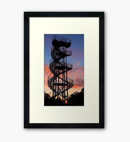 Kings Park DNA Tower  Framed Print