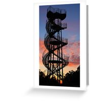 Kings Park DNA Tower  Greeting Card
