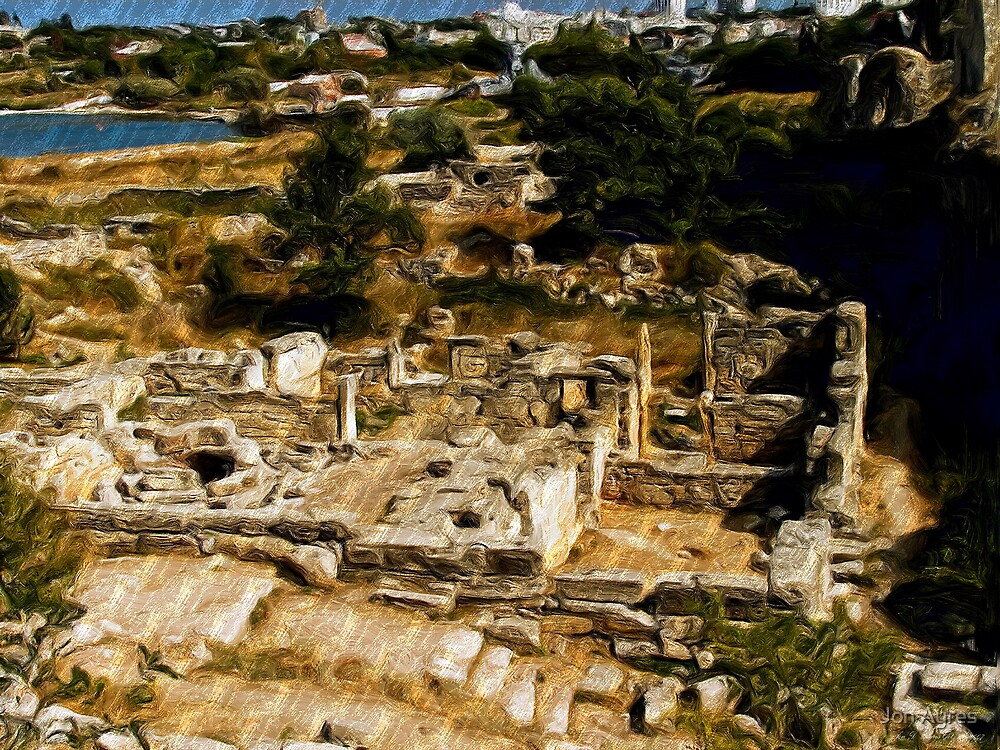 Chersonesus of Tauris1  Greek Home by Jon Ayres
