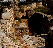 Chersonesus of Tauris2 Ancient Greek Street by Jon Ayres
