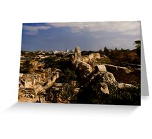 Chersonesus of Tauris3 Residential area Greeting Card