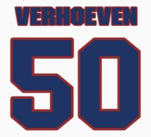Basketball player Pete Verhoeven jersey 50 by imsport