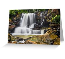 Laurel Creek Falls, West Virginia Greeting Card
