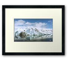 Antarctic Reflections Framed Print