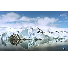 Antarctic Reflections Photographic Print