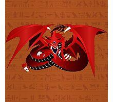 Slifer, the Sky Dragon Photographic Print