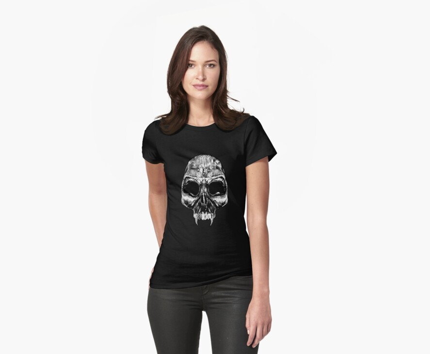 Ladies Evil Skull by Ralph Kühl