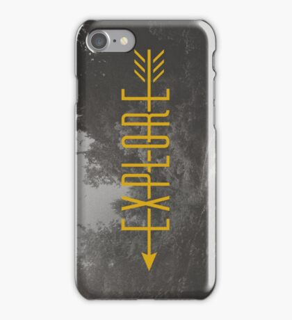Explore (Arrow) iPhone Case/Skin