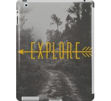 Explore (Arrow) iPad Case/Skin