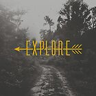 Explore (Arrow) by Zeke Tucker