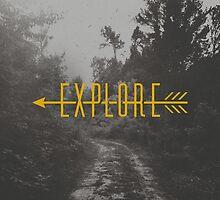 Explore (Arrow) by Zeke Tucker