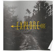 Explore (Arrow) Poster