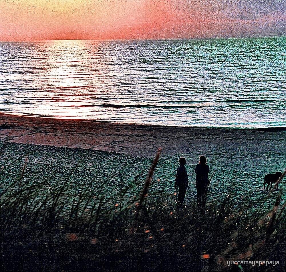 sunset on the gitchie goomie by yuccamayapapaya