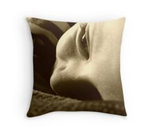 At ease Throw Pillow