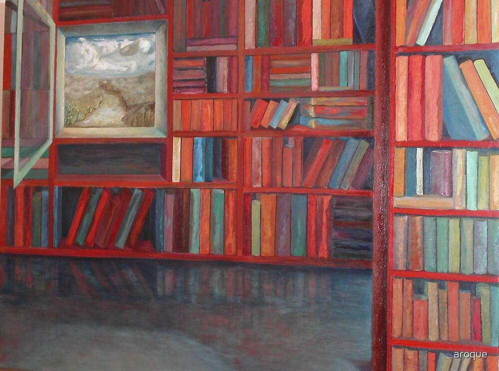 Biblioteca IV by aroque