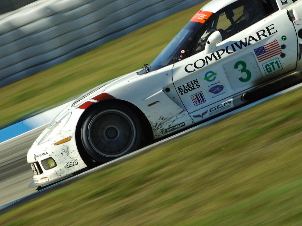 Leading Corvette by David Linkenauger