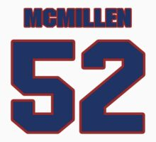 Basketball player Tom McMillen jersey 52 by imsport