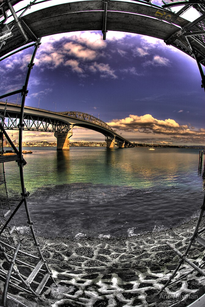 Auckland Harbour Bridge by Ant Vaughan