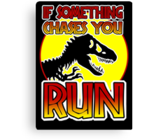 Dino RUN Canvas Print