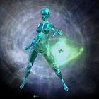 The Atomic Android by sciencenotes