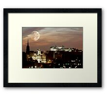 October Nights  Framed Print