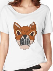Graphic Fox Design Women's Relaxed Fit T-Shirt