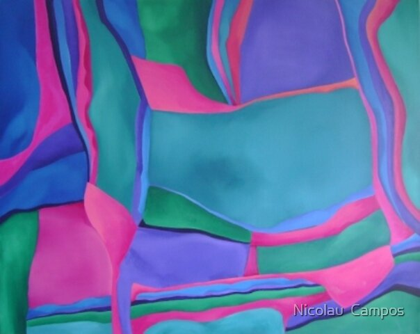 Abstract 21 by Nicolau  Campos