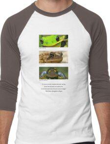 Amphibian conservation Men's Baseball ¾ T-Shirt