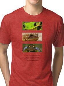 Amphibian conservation Tri-blend T-Shirt