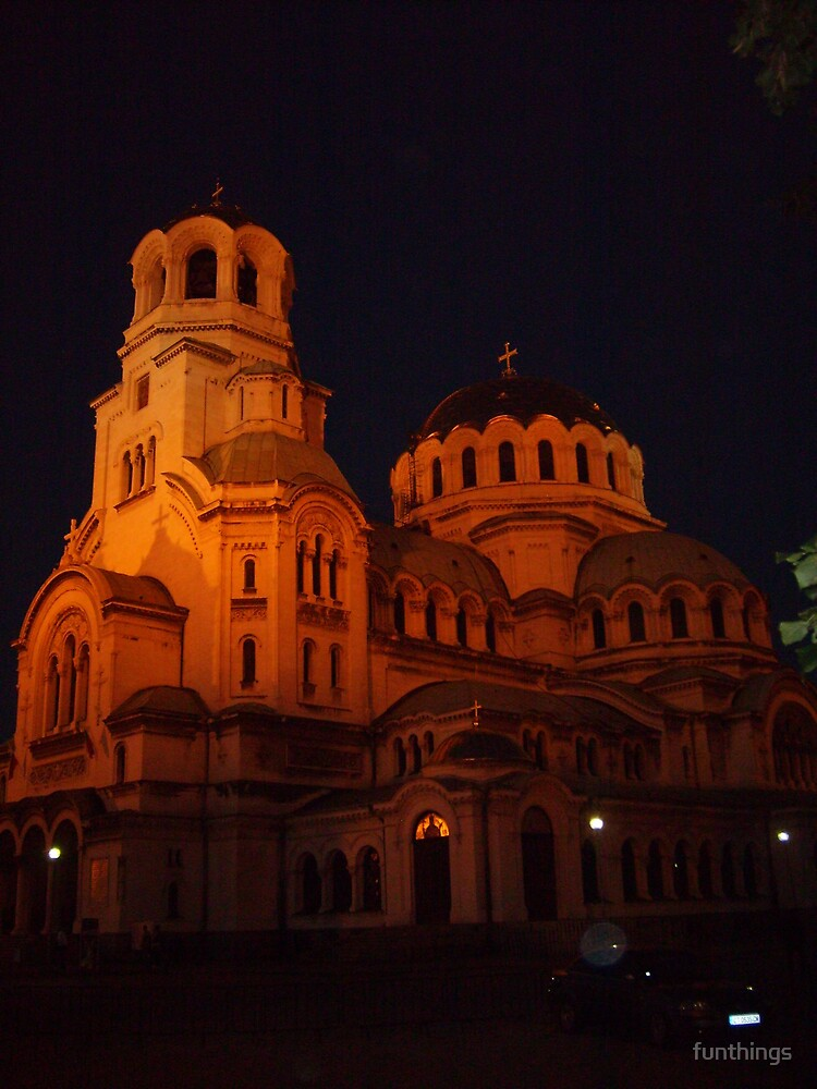 Alexander Nevski Church in Sofia Bulgaria by funthings