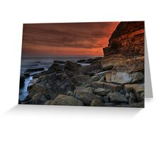 Kimmeridge V Greeting Card