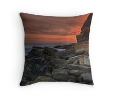 Kimmeridge V Throw Pillow