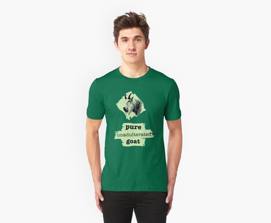 Pure goat - green tint by ArtbyCowboy