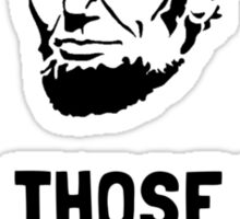 Lincoln Good Tacos Sticker